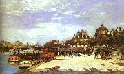 Pierre Renoir The Pont des Arts the Institut de France oil painting picture wholesale