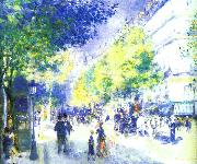 Pierre Renoir Les Grands Boulevards oil painting picture wholesale