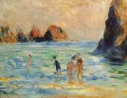 Pierre Renoir Moulin Huet Bay, Guernsey oil painting picture wholesale