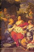 Pietro da Cortona Nativity of the Virgin oil painting artist