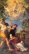 Pietro da Cortona The Stoning of St.Stephen 02 oil painting artist