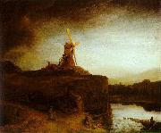 Rembrandt The Mill oil painting picture wholesale