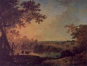 Richard  Wilson View in Windsor Great Park oil painting artist