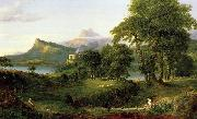 Thomas Cole Course of Empire oil painting picture wholesale
