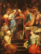 Rosso Fiorentino Marriage of The Virgin oil painting picture wholesale