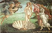 Sandro Botticelli The Birth of Venus oil painting artist