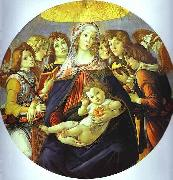 Sandro Botticelli Madonna of the Pomegranate oil painting artist