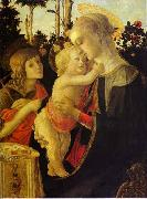 Sandro Botticelli The Virgin and Child The Virgin and Child The Virgin and Child with John the Baptist oil painting artist