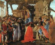 Sandro Botticelli The Adoration of the Magi oil painting artist