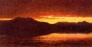 Sanford Robinson Gifford Twilight at Mt Merino oil painting picture wholesale