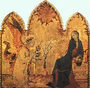 Simone Martini The Annunciation and the Two Saints oil painting picture wholesale