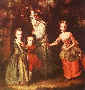 Sir Joshua Reynolds The Children of Edward Hollen Cruttenden oil painting picture wholesale