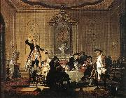 TROOST, Cornelis Rumor erat in Casa (There was a Commotion in the House) t oil painting artist