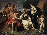 TURCHI, Alessandro Bacchus and Ariadne wt oil painting artist