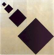 Theo van Doesburg Arithmetic Composition oil painting artist