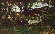 Theodore Clement Steele A June Idyll oil painting picture wholesale