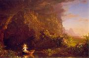 Thomas Cole The Voyage of Life: Childhood oil painting picture wholesale