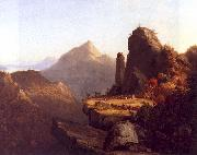Thomas Cole Scene from The Last of the Mohicans oil painting picture wholesale