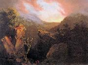 Thomas Cole Mountain Sunrise oil painting picture wholesale