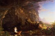 Thomas Cole The Voyage of Life Childhood oil painting picture wholesale