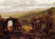 Thomas Cole Ruins of Taormina oil painting picture wholesale