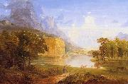 Thomas Cole The Cross and the World oil painting picture wholesale
