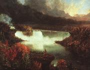 Thomas Cole Niagara Falls oil painting picture wholesale