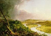 Thomas Cole 'The Ox Bow' of the Connecticut River near Northampton, Massachusetts oil painting picture wholesale