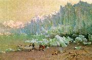 Thomas Hill The Muir Glacier in Alaska oil painting artist