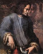 VASARI, Giorgio Portrait of Lorenzo the Magnificent wr oil painting artist