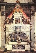 VASARI, Giorgio Monument to Michelangelo ar oil painting artist