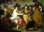 VELAZQUEZ, Diego Rodriguez de Silva y The Topers (The Rule of Bacchus) e oil painting picture wholesale