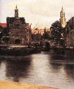 VERMEER VAN DELFT, Jan View of Delft (detail) qr oil painting picture wholesale