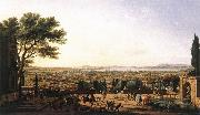VERNET, Claude-Joseph The Town and Harbour of Toulon aer oil painting artist