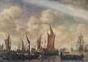 VLIEGER, Simon de Visit of Frederick Hendriks II to Dordrecht in 1646  jhtg oil painting picture wholesale