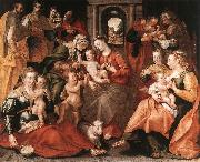 VOS, Marten de The Family of St Anne aer oil painting picture wholesale