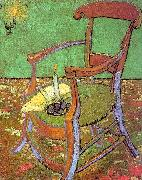 Vincent Van Gogh Gauguin's Chair with Books and Candle oil painting picture wholesale