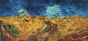 Vincent Van Gogh Wheatfield With Crows oil painting picture wholesale