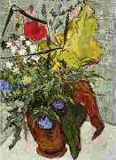 Vincent Van Gogh Wild Flowers and Thistles in a Vase oil painting picture wholesale