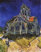 Vincent Van Gogh The Church of Auvers-sur-Oise oil painting picture wholesale