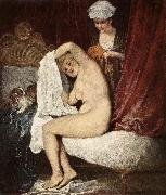 WATTEAU, Antoine The Toilette oil painting picture wholesale