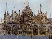 Walter Sickert St Mark's Cathedral, Venice oil painting picture wholesale