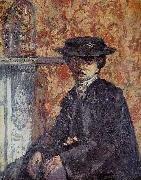 Walter Sickert The New Home oil painting artist