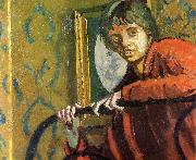 Walter Sickert Cicely Hey oil painting artist