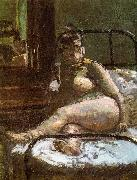 Walter Sickert La Hollandaise oil painting artist