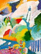 Wassily Kandinsky Church in Marnau oil painting picture wholesale