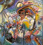 Wassily Kandinsky Moscow I oil painting picture wholesale