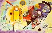 Wassily Kandinsky Yellow-Red-Blue oil painting picture wholesale