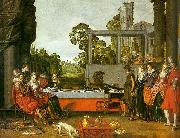Willem Buytewech Merry Company in the Open Air oil painting picture wholesale