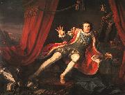 William Hogarth David Garrick as Richard III oil painting artist